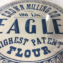 Load image into Gallery viewer, Old Vintage, EAGLE FLOUR Barrel Label, Crown Milling Co. - TheBoxSF