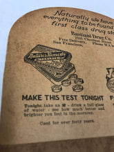 Load image into Gallery viewer, Vintage Tums / Nature's Remedy Fan from Bastiani Drug Co. in San Francisco, CA