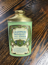 Load image into Gallery viewer, Vintage Cashmere Bouquet Talcom Powder Tin Container - TheBoxSF