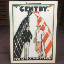 Load image into Gallery viewer, Old Vintage, CENTRY Pour La Ville Display SIGN, Delamare & Cerf - TheBoxSF