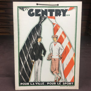 Old Vintage, CENTRY Pour La Ville Display SIGN, Delamare & Cerf - TheBoxSF