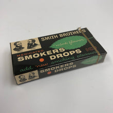 Load image into Gallery viewer, Vintage Smith Brothers Smokers Drops Box