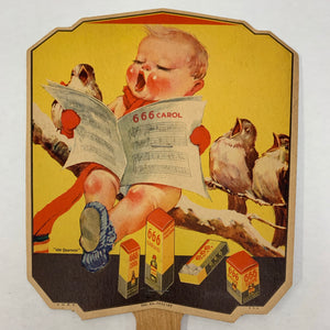 Old FAN, Baby reading Carol, 666 Liquid, Tablets, Salve