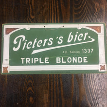 Load image into Gallery viewer, Old Pieters's Bier Triple Blonde SIGN, Beer - TheBoxSF