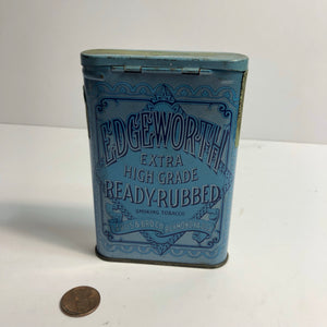 EDGEWORTH Extra High Grade Smoking Tobacco || Larus & Bro. Co. EMPTY