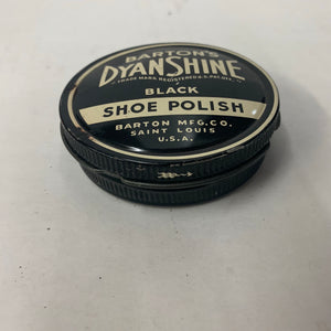 Vintage Dyan Shine Black Shoe Polish