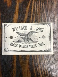 Vintage Wallace & Sons Eagle Dressmakers' Pins Package - TheBoxSF
