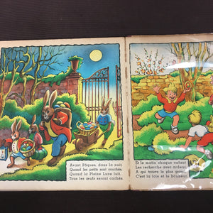 Old Vintage, Histoire de Lievres, KIDS ILLUSTRATED BOOK, Dorette Muller - TheBoxSF