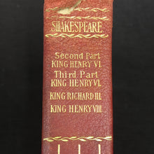 Load image into Gallery viewer, Old Vintage SHAKESPEARE Book, KING HENRY, King Richard - TheBoxSF