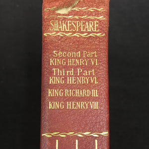 Old Vintage SHAKESPEARE Book, KING HENRY, King Richard - TheBoxSF