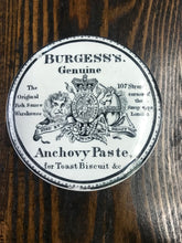 Load image into Gallery viewer, Antique Burgess's Genuine Anchovy Paste Croc - TheBoxSF