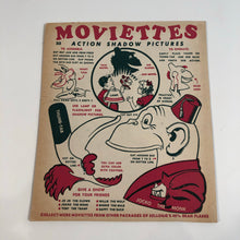 Load image into Gallery viewer, 1930's UNUSED Kellogg's Cereal MOVIETTES ACTION SHADOW PICTURES Puppet - JOCKO THE MONK