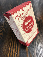 Load image into Gallery viewer, Vintage Red Pop Corn Box - TheBoxSF