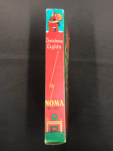 Vintage Christmas Lights by Noma Packaging with Lights - TheBoxSF