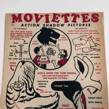 Load image into Gallery viewer, A closer look at Moviettes promotional Tiger shadow puppet