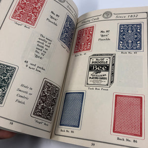 Vintage General Catalogues of Playing Cards