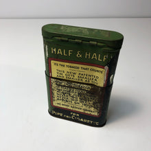 Load image into Gallery viewer, Vintage Half and Half Lucky Strike Cigar Tin || EMPTY