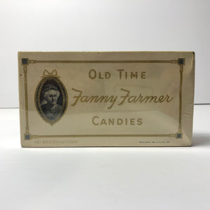 Vintage Beautiful Old Time Fanny Farmer Candies Box