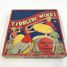 Load image into Gallery viewer, Vintage Tiddledy Winks Toy Package