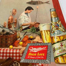 Load image into Gallery viewer, Old Original MILLER High Life BEER Menu, Brewed & Bottled