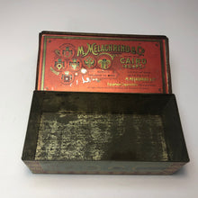 Load image into Gallery viewer, Vintage Egyptian Cigarettes Tin Box || EMPTY