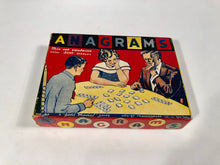 Load image into Gallery viewer, ANAGRAMS Vintage Word Game || Gold Medal Game || Transogram