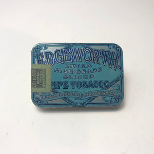 Blue Edgeworth Pipe Tobacco Tin Box