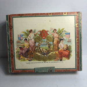 Vintage and Great Mantequilla Cigar Box || EMPTY