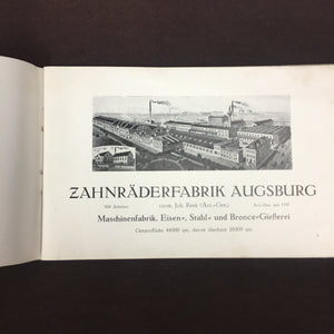 Zahnraderfabrik Augsburg Book | Germany | Old Photography - TheBoxSF