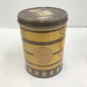 Vintage Sunshine Cheese Wafer Can