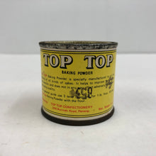 Load image into Gallery viewer, Vintage 2 oz Top Top Baking Powder Can