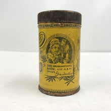 Load image into Gallery viewer, Vintage Sultana Spice Mills Mustard Can