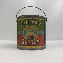 Load image into Gallery viewer, Vintage Dixie Maid Pure Cane and Corn Syrup