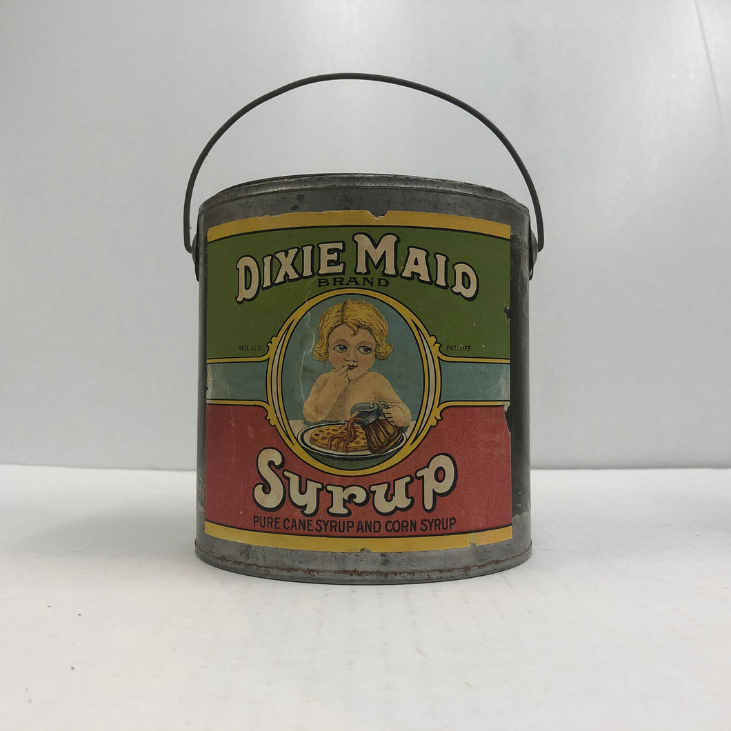 Vintage Dixie Maid Pure Cane and Corn Syrup