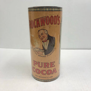 Vintage Rockwood's Pure Coca 2 Pounds Can