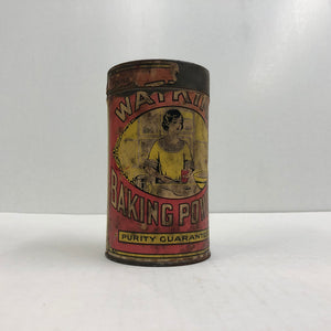 Vintage Watkins Baking Powder Can