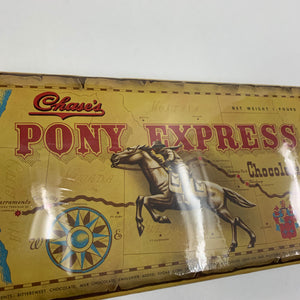 Vintage Pony Express Chocolate Box