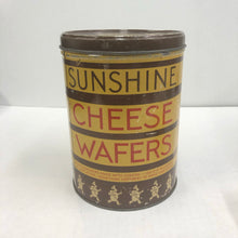 Load image into Gallery viewer, Vintage Sunshine Cheese Wafer Can
