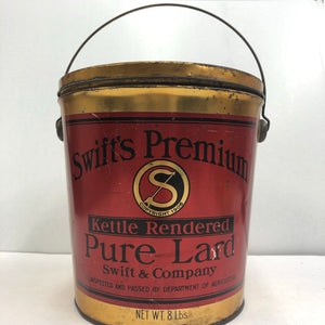 Swift's Premium Pure Lard 8 lbs Can