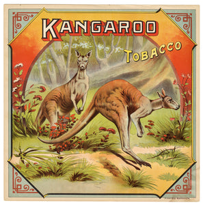 KANGAROO Caddy Crate Label || A. Hoen & Co., Old, Vintage - TheBoxSF