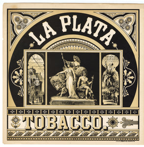 LA PLATA Caddy Crate Label || A. Heart & Co., Old, Vintage - TheBoxSF