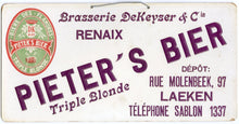 Load image into Gallery viewer, Pieter's Bier Triple Blonde SIGN || Beer, Flandres