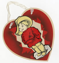 Load image into Gallery viewer, Antique 1920's Three Dimensional Pop-Out VALENTINE || Child in Calvary Gear