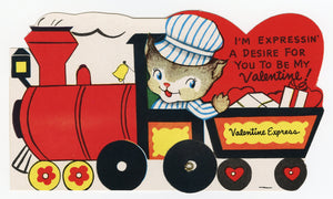 Assorted Unused 1950's VALENTINES with Envelopes || Expressin' a Desire