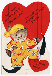 Assorted Unused 1950's VALENTINES with Envelopes || Puppet in Your Hands