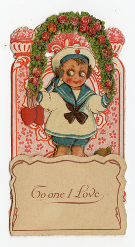 Antique Pop-Out Diorama 1920's VALENTINE Card ||