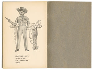 1950's Big Smith Clothing Promotional Coloring Book, Menswear, Jeans