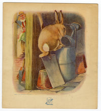 Load image into Gallery viewer, Antique 1920 Peter Rabbit Illustrated Children's Storybook, Sam'l Gabriel & Sons