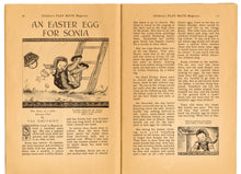 Load image into Gallery viewer, April 1946 Vintage Children's Playmate Magazine || Easter, Spring Issue