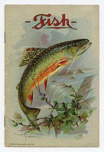 1906 Fish Promotional Advertising Pamphlet for Hengerer's Department Store